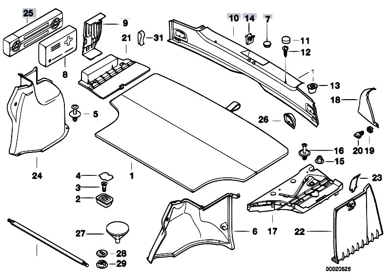Bmw E93 Parts Diagram