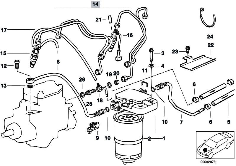 original parts for e36 318tds m41 touring    fuel