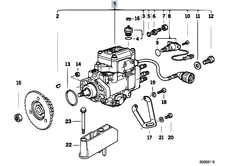 Original Parts For E39 525tds M51 Touring Fuel Preparation System Diesel Injection Pump: Pilz Pnoz X4 Wiring Diagram At Ultimateadsites.com