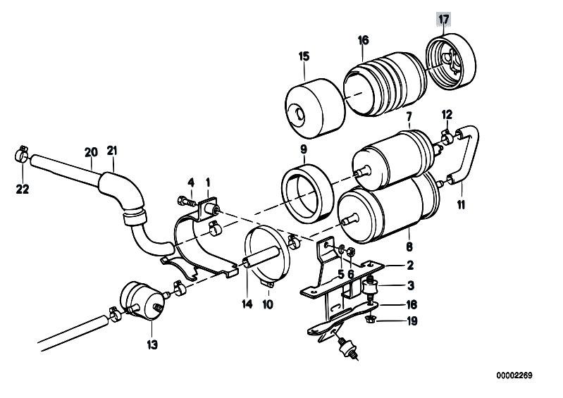 Diagram Original Parts For E30 M3 S14 Cabrio Everything You Need To