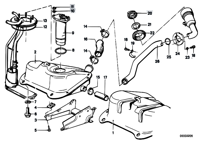 Bmw E39 Wiring Diagram Wds together with Suzuki Gs400 Wiring Diagram moreover 0153200 together with Original Parts For E21 318i M10 Sedan Fuel Supply Fuel Tank together with E12 Bmw Electrical Schematics. on e21 wiring diagram