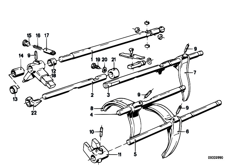 Original Parts For E21 318i M10 Sedan    Manual