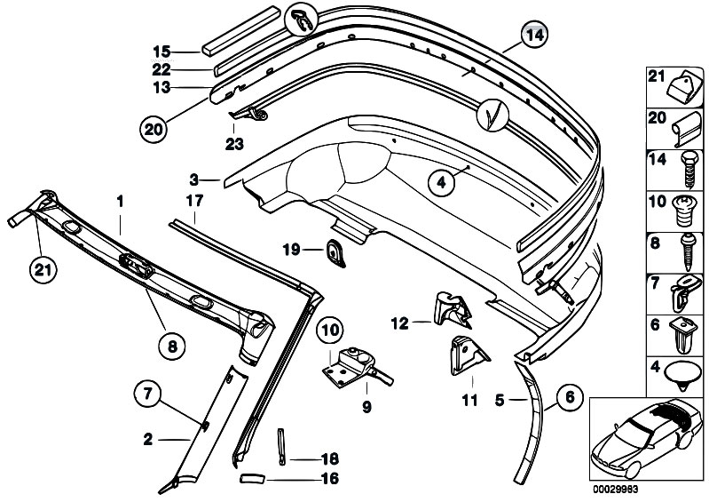 bmw z parts manual bmw z3 parts mileoneparts moreover 1997 bmw z3 engine diagram on bmw