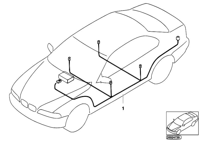 original parts for e46 316ci m43 coupe    audio navigation