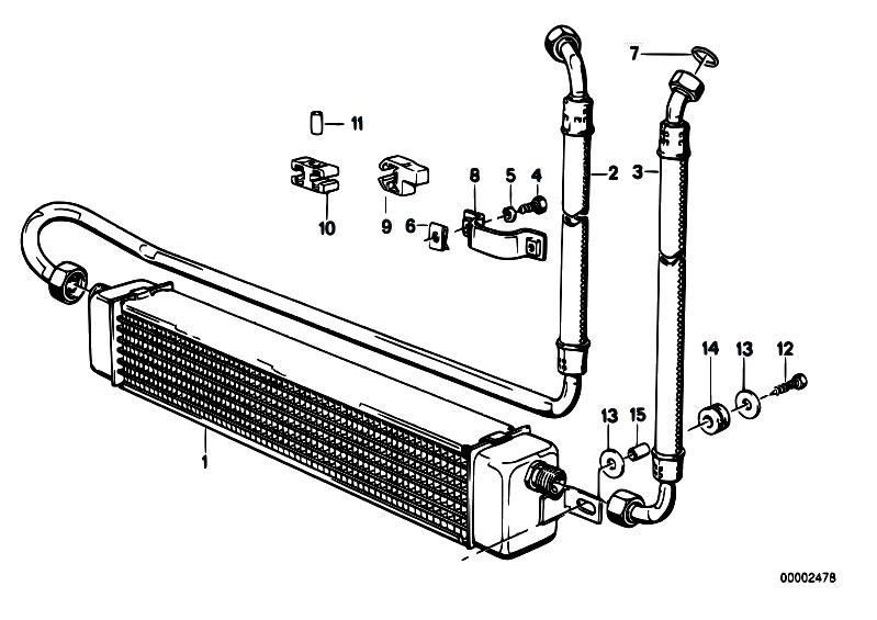 original parts for e30 m3 s14 cabrio radiator engine. Black Bedroom Furniture Sets. Home Design Ideas