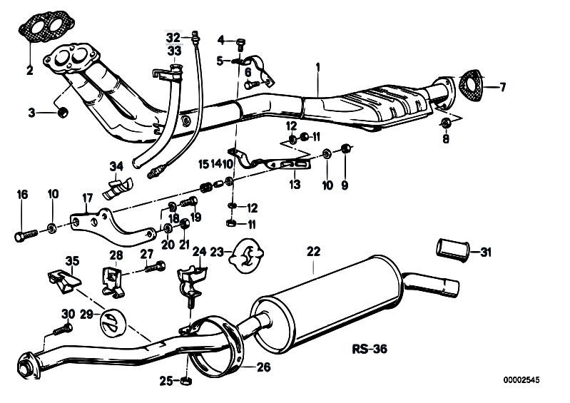 1990 E30 325i Engine Diagram
