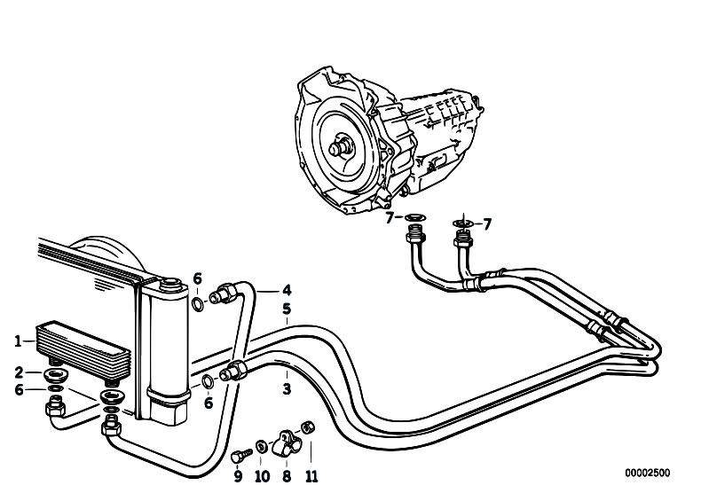 original parts for e36 316i m40 sedan    radiator