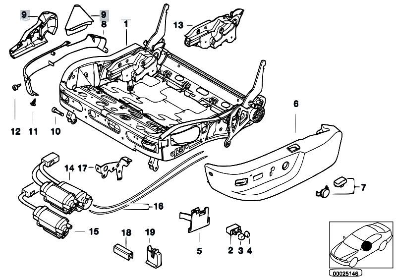 original parts for e39 530d m57 touring    seats   bmw