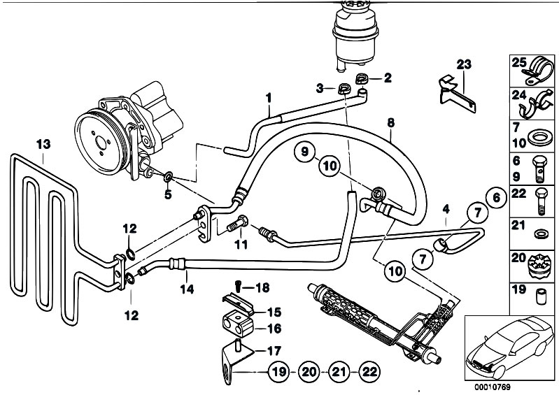 original parts for e39 525tds m51 touring    steering