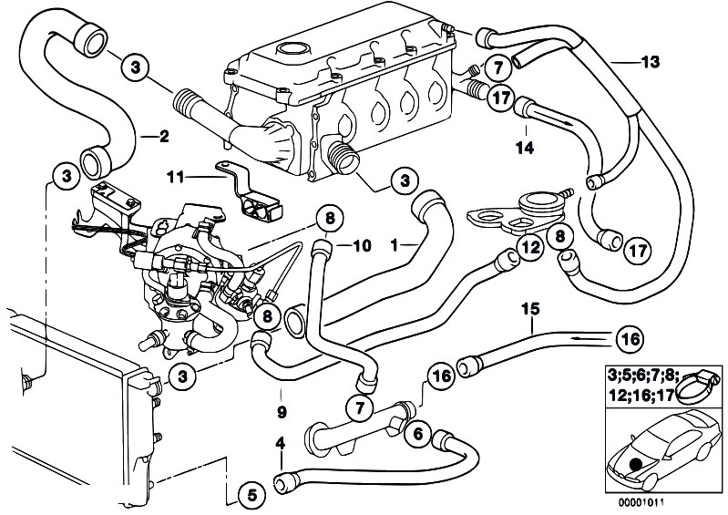 1998 Bmw 318ti Engine Diagram