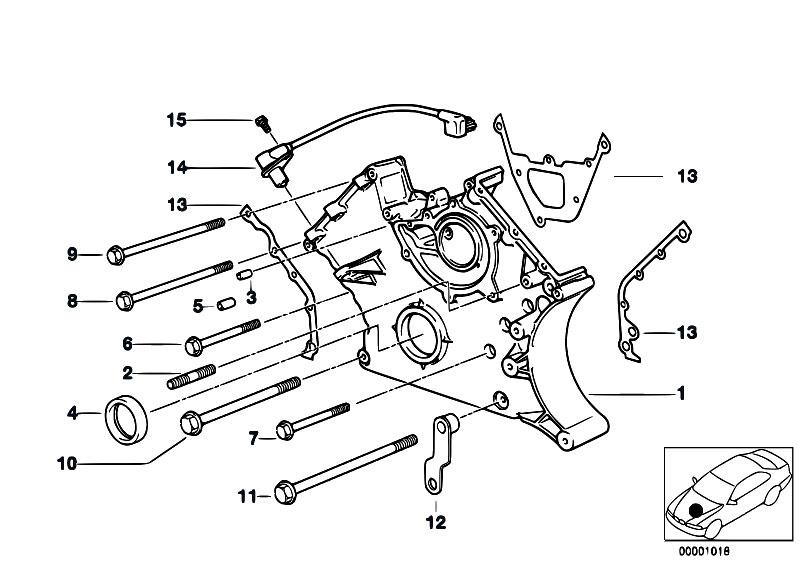 original parts for e38 730il m60 sedan engine lower timing estore central