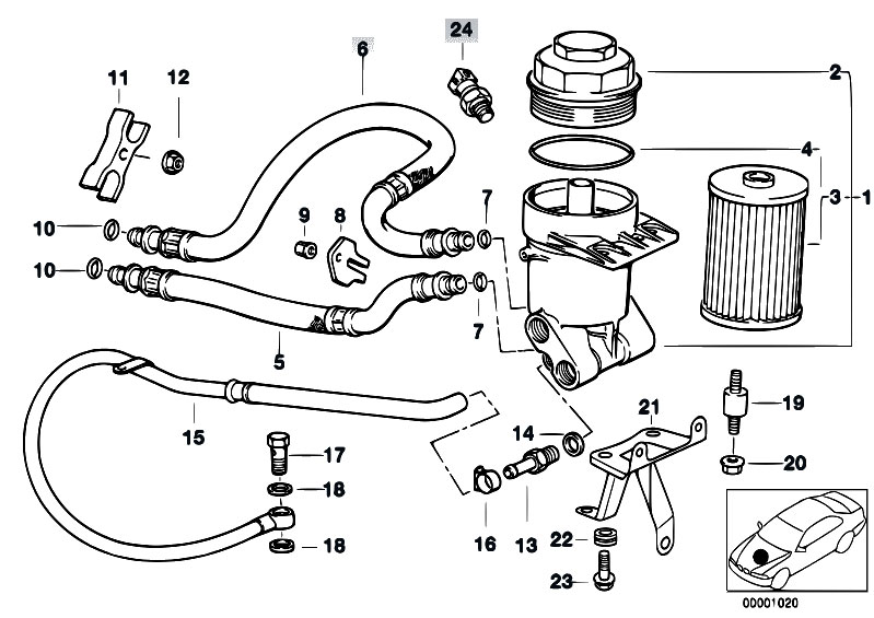 bmw 540i intake manifold diagram