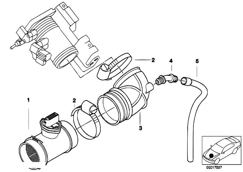 original parts for e46 316ci m43 coupe fuel preparation. Black Bedroom Furniture Sets. Home Design Ideas