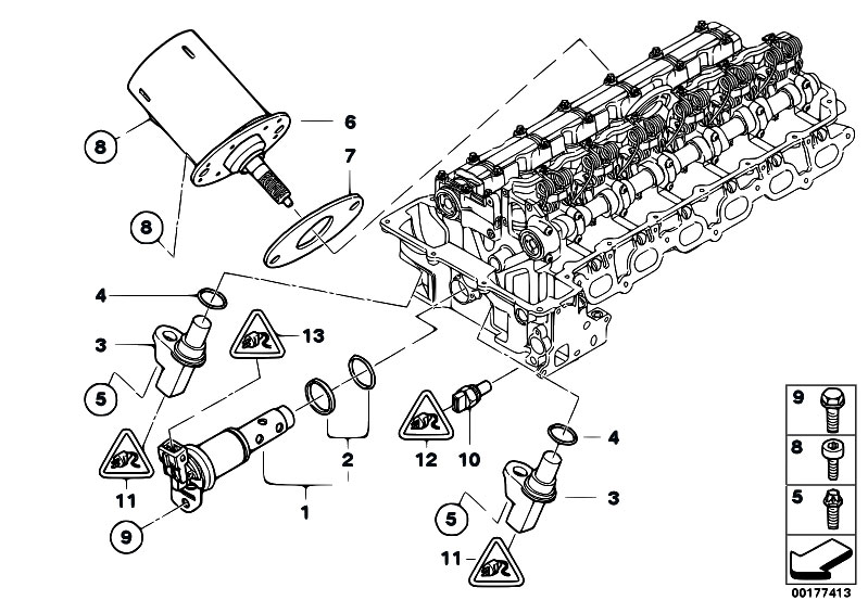 bmw n52 engine diagram  | 592 x 419