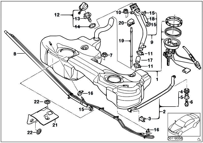 2000 Bmw 328i Central Fuse Box Diagram