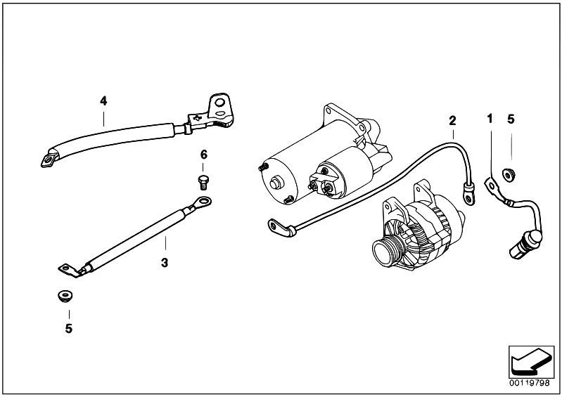 Original Parts For E61 530d M57n Touring    Engine
