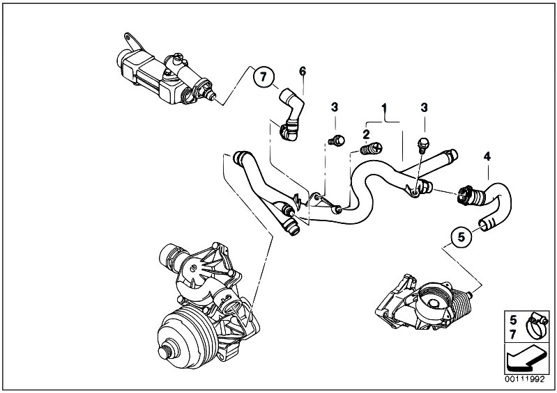 2005 bmw 325i belt diagram