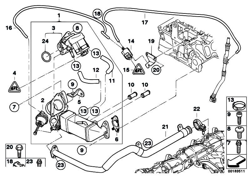 Original Parts For E92 330d N57 Coupe    Engine   Emission