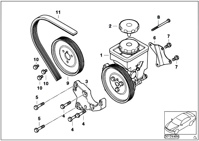 Original Parts For E53 X5 3 0d M57 Sav    Steering   Power