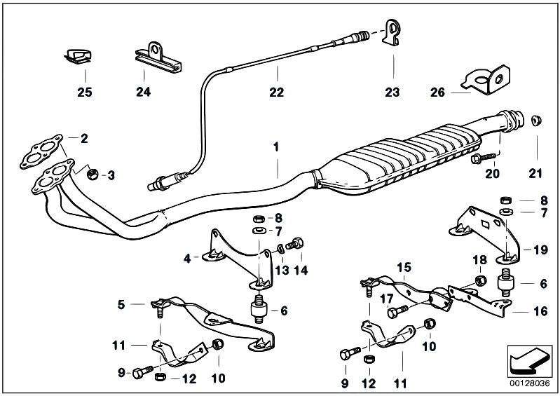 558067 Bmw E36 Exhaust System Diagram on bmw e90 wiring diagram
