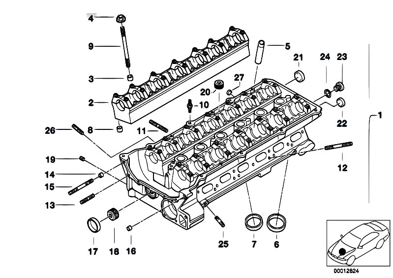 2005 bmw 545i parts diagram html