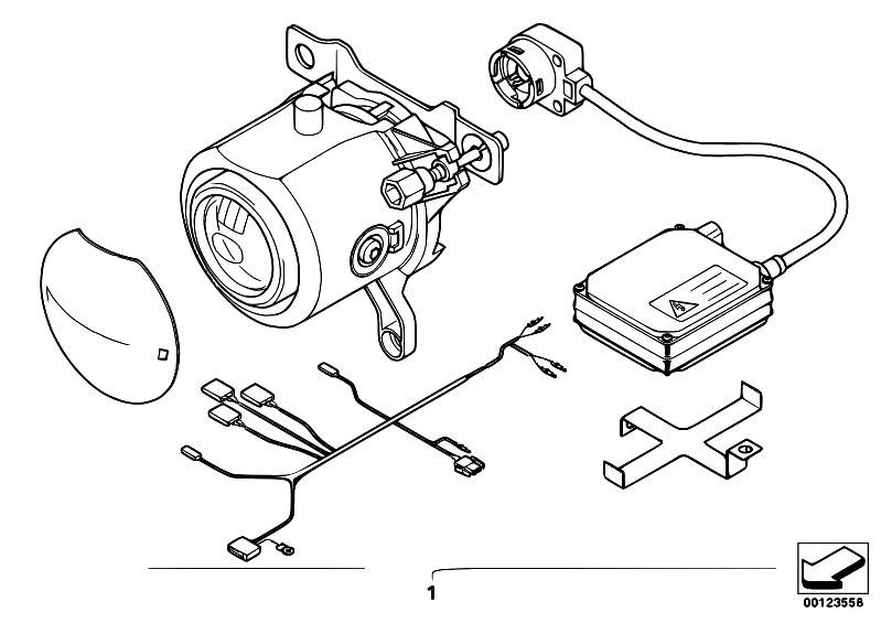original parts for e46 325ci m54 coupe    lighting