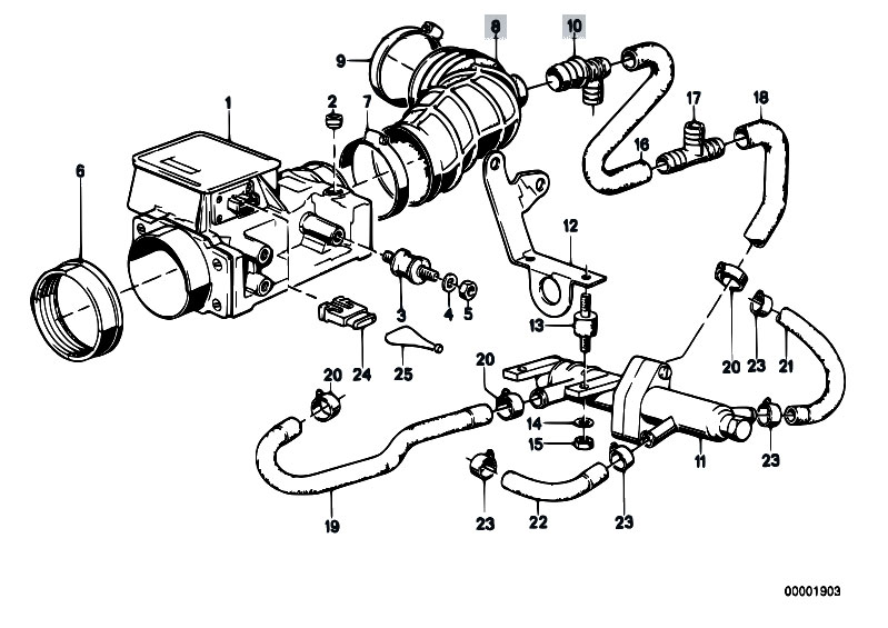 1986 Bmw 535i Engine Diagram