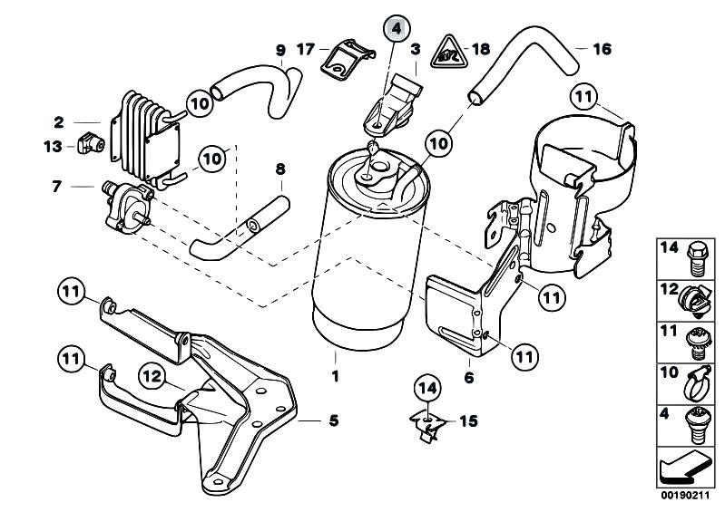 bmw fuel filter diagram image 10