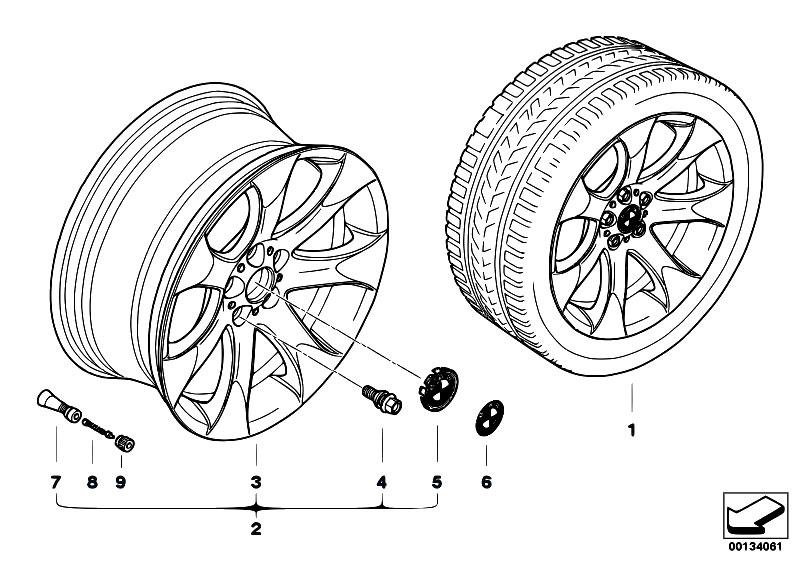 original parts for e53 x5 3 0d m57n sav    wheels   bmw