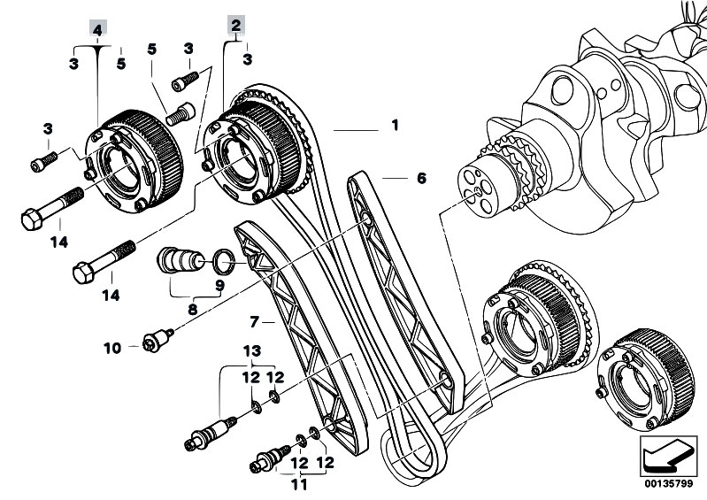 service manual  1995 bmw 5 series engine timing chain