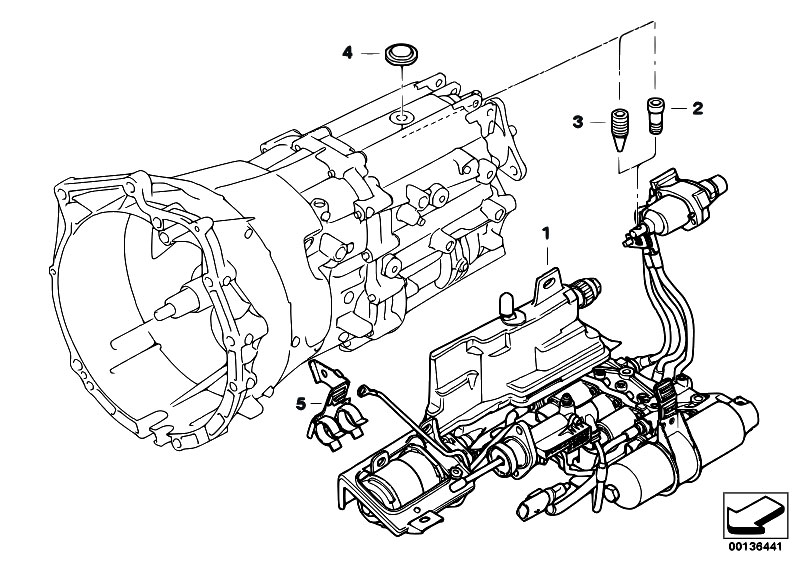 original parts for e60 525i m54 sedan    manual