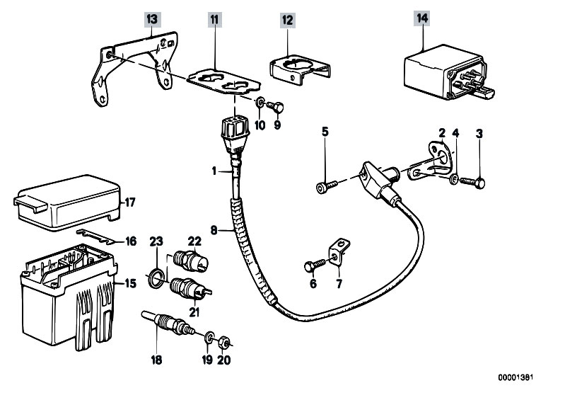 Glow Plug Unit Temp Sensor Trigg Contact on diesel injection pump diagram