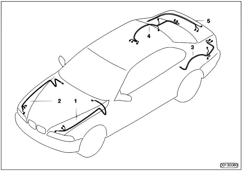 original parts for e60 530d m57n sedan    vehicle