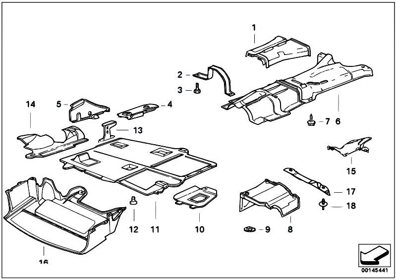 original parts for e36 318ti m44 compact    vehicle trim