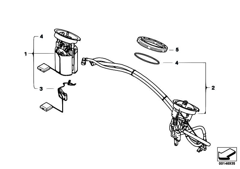 original parts for e70 x5 4 8i n62n sav    fuel supply