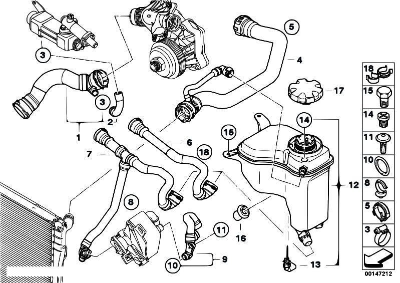 Original Parts For E90 330d M57n2 Sedan    Radiator