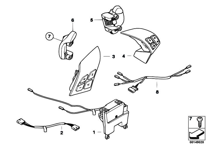 original parts for e60 m5 s85 sedan vehicle electrical. Black Bedroom Furniture Sets. Home Design Ideas