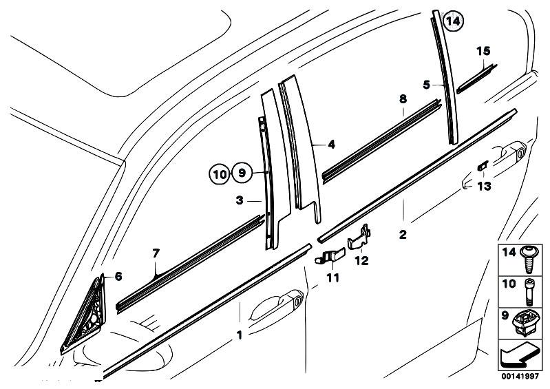 Bmw E90 Door Diagram