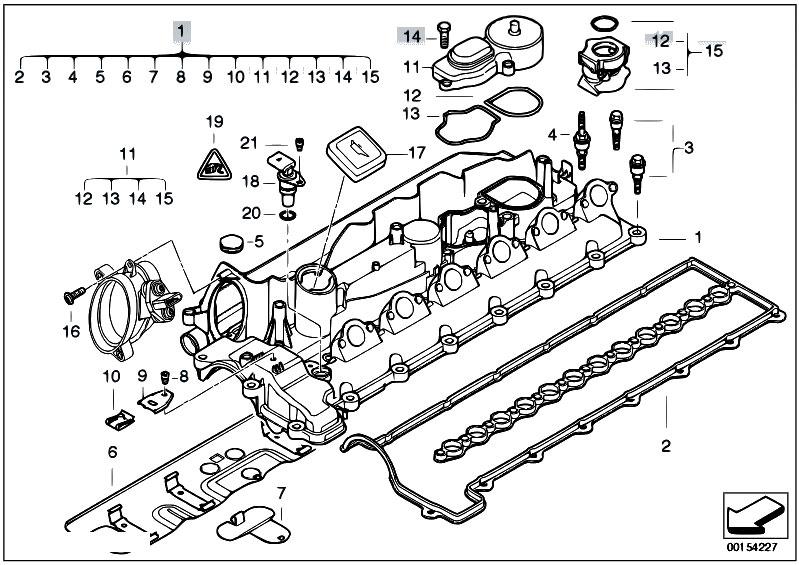 original parts for e60 530d m57n sedan    engine   cylinder