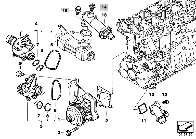 original parts for e46 330d m57 touring    engine
