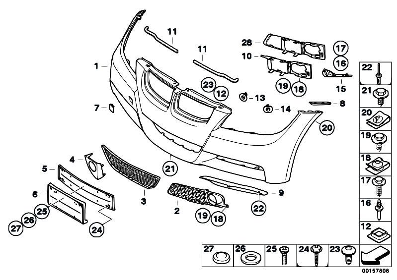 original parts for e90 320d m47n2 sedan vehicle trim m. Black Bedroom Furniture Sets. Home Design Ideas