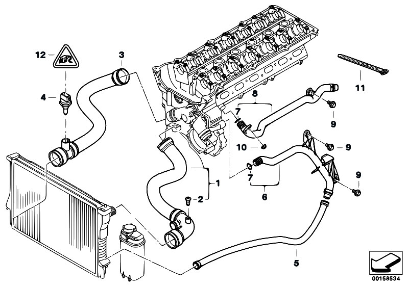 bmw engine cooling system diagram ford ranger 4 0 engine cooling system diagram