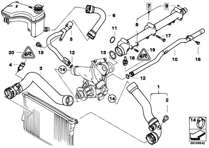 bmw e46 engine intake manifold diagram  bmw  wiring diagram images