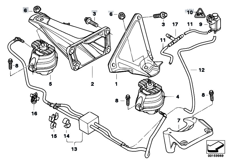 original parts for e60 530d m57n sedan    engine and
