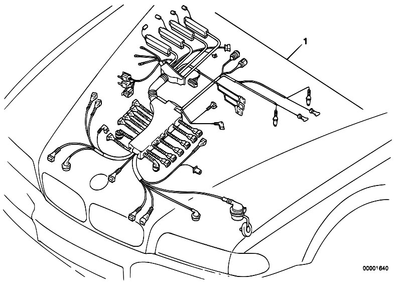 Bmw M60 Engine Harness Diagram