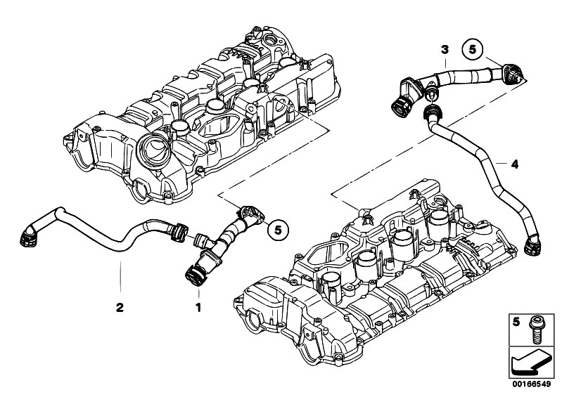 Original Parts For F01 750i N63 Sedan    Engine   Crankcase
