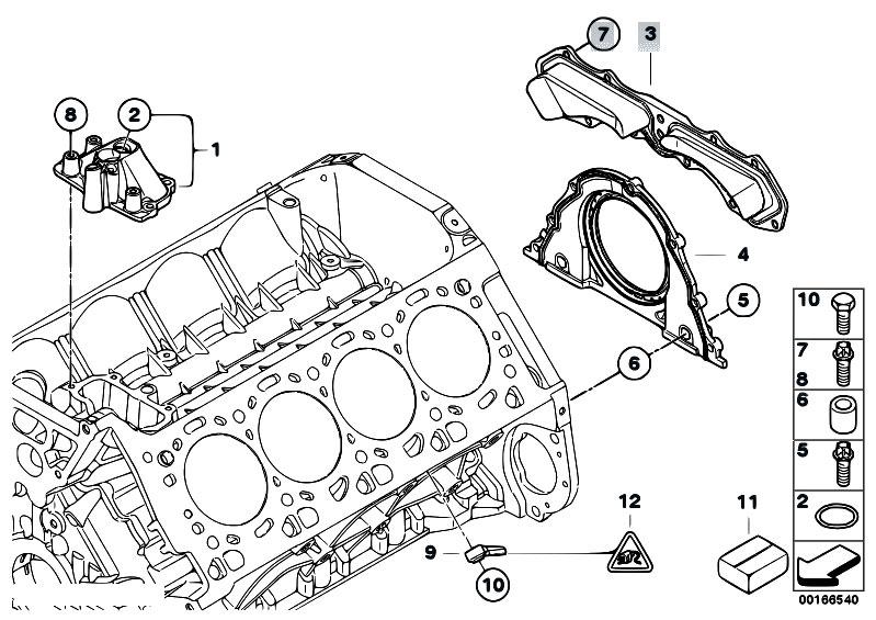 original parts for e71 x6 50ix n63 sac    engine   engine