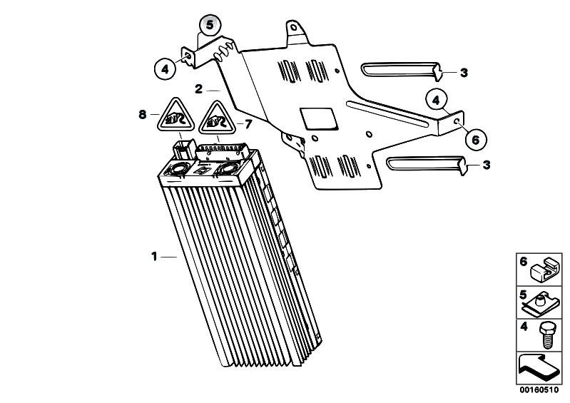 Original Parts For E87 116i N45 5 Doors    Audio Navigation