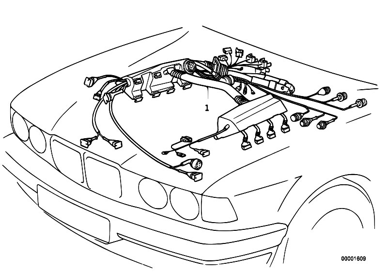bmw m60 engine wiring harness diagram  bmw  free engine