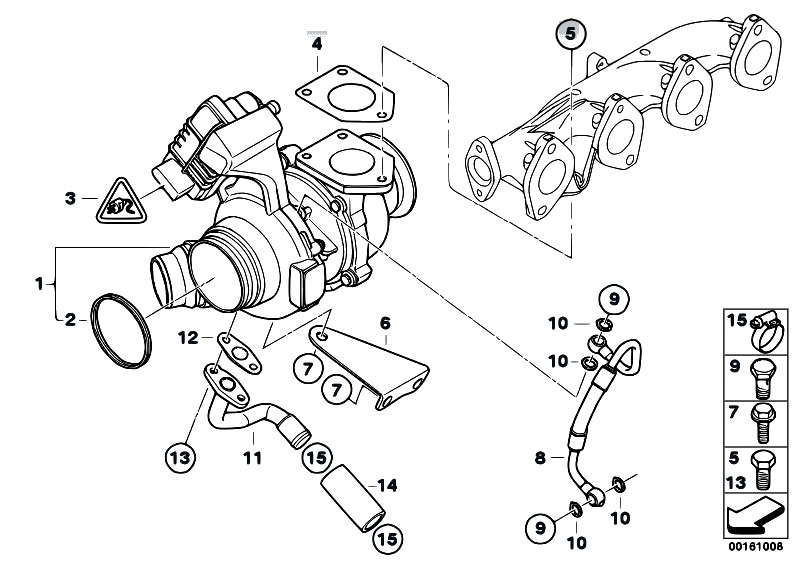 belt diagram bmw n52